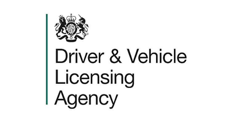 Driver & Vehicle Licensing Agency Logo. A client Of Target Group