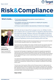 Risk & Compliance Bulletin March 2019